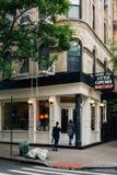 小的杯形蛋糕Bakeshop,在Nolita,曼哈顿,纽约 库存照片