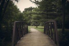 小的桥梁 库存图片