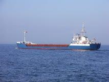 小的沿海航船 库存照片