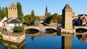 小的法国区在史特拉斯堡 股票录像