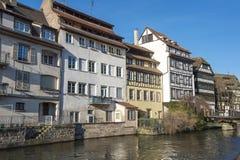 小的法国史特拉斯堡,法国 图库摄影