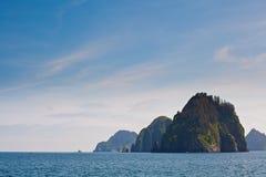 小的海岛 库存照片
