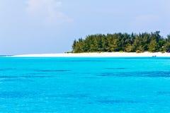小的海岛 免版税库存图片