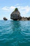 小的海岛 库存图片