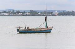 小的渔船 免版税图库摄影
