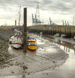 小的港口 免版税库存图片