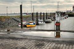 小的港口 库存照片