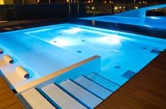 小的游泳池 免版税库存照片