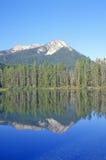 小的湖和锯齿山,爱达荷 免版税图库摄影