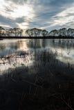 小的湖 图库摄影