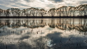 小的湖 免版税图库摄影