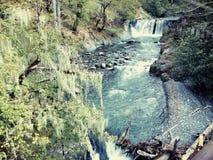 小的瀑布 库存照片