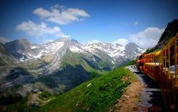 小的火车d'Artouste 免版税库存图片