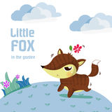 小的狐狸 图库摄影