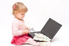 小的生意人 免版税库存图片