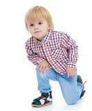 小的男孩 免版税库存照片