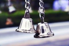 小的祈祷的响铃 库存图片