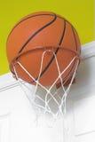 小的篮球篮 图库摄影
