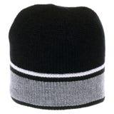 小的编织帽子 库存图片