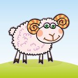 小的羊羔 向量例证