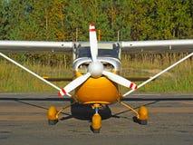小的航空器 免版税库存照片