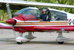 小的航空器 免版税图库摄影