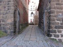 小的街道 免版税库存照片