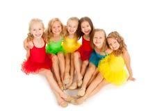 小的跳芭蕾舞者 库存照片
