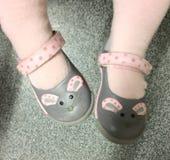 小的鞋子 免版税库存照片