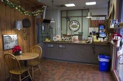 小的餐馆 免版税库存照片