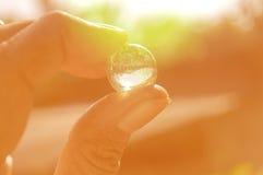 小的玻璃 免版税图库摄影