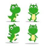 小的滑稽的恐龙 免版税图库摄影