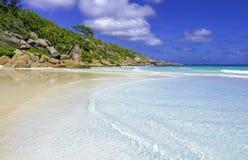 小的anse,塞舌尔群岛 免版税库存照片