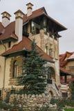 小的château 免版税库存照片