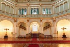小的Georgievsky大厅 免版税库存照片
