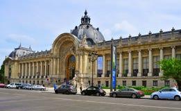 小的Palais在巴黎,法国 免版税库存图片