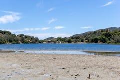 小盐水湖在希腊5 免版税库存照片