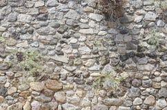小石墙背景 图库摄影