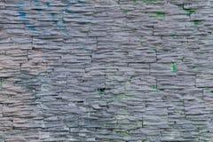 小石头墙壁  免版税库存照片