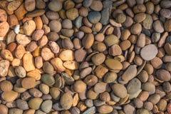 小石头的了不起的数字 免版税库存图片