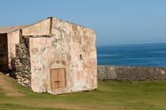 小砖的房子 免版税库存照片