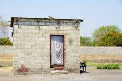 小砖的房子 免版税图库摄影