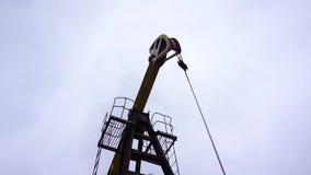 小私有黄色井架泵浦工作油 股票录像