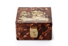 小箱埃及人 免版税库存照片
