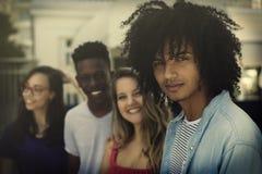 小组国际一代y年轻成人 免版税库存图片
