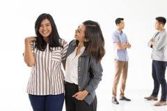 小组年轻企业概念 免版税图库摄影