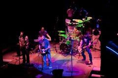 小组的音乐会制片者流行音乐, 2009年4月24日的香宾 免版税库存图片