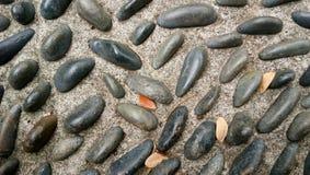 小组自然灰色岩石 库存照片