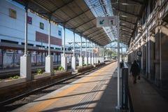 小维亚纳堡火车站的建筑细节 库存照片