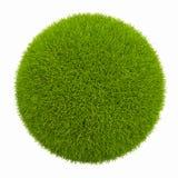 小绿色的行星 免版税库存图片